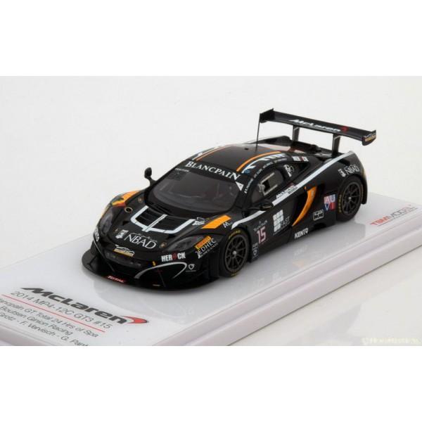 McLaren MP4-12C GT3 No.15, 24h Spa 2014 Ojjeh/Grot...