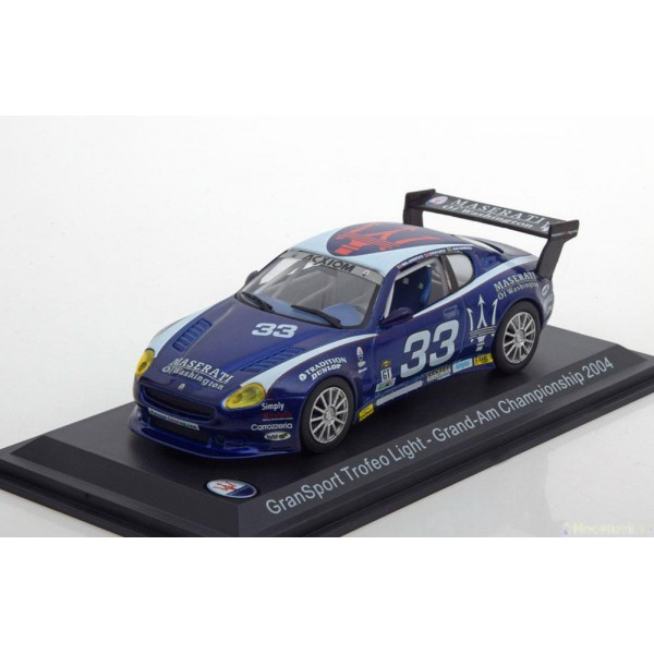 Maserati Trofeo Light GranSport Grand-Am Championship 2004.Leo Models 1:43