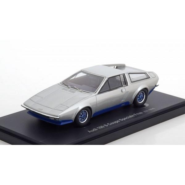 Audi 100 S Coupe Speciale Frua 1974 silver.AutoCul...