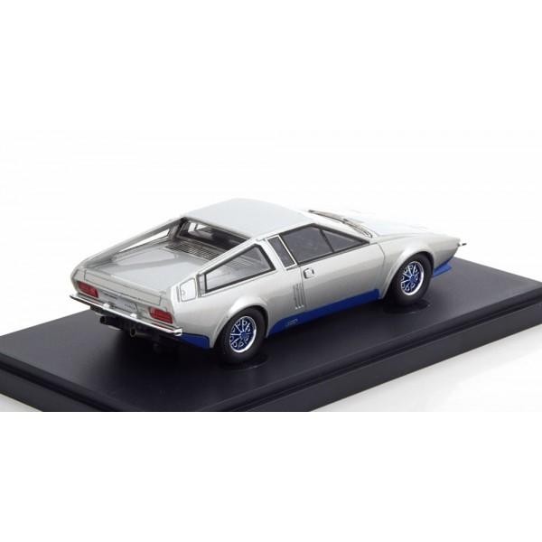 Audi 100 S Coupe Speciale Frua 1974 silver.AutoCult 1:43