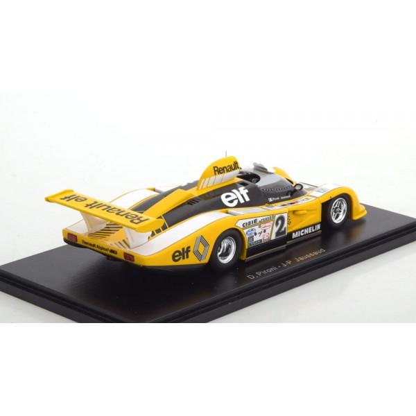 Renault Alpine A442B Winner 24h Le Mans 1978 Pironi/Jaussaud.Spark 1:43