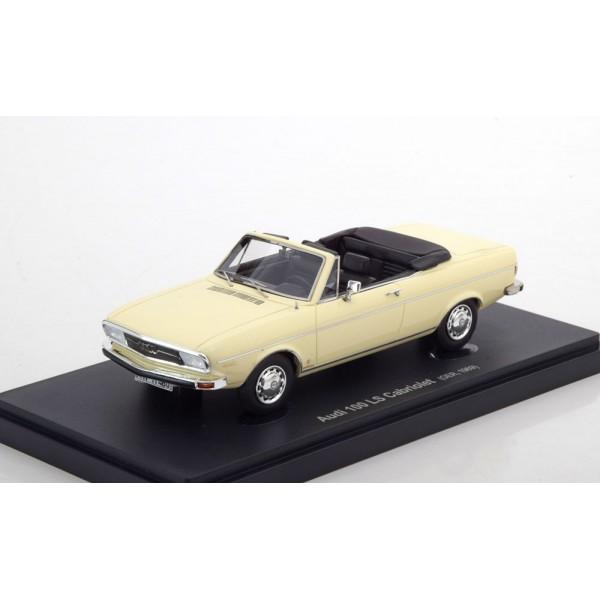 Audi 100 LS C1 Convertible 1969 creme.AutoCult 1:43