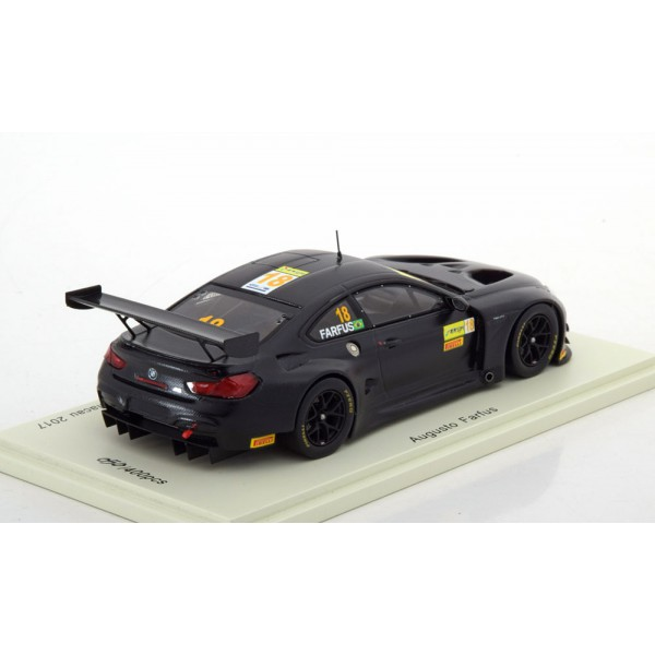BMW M6 GT3 No.18, GT World Cup Macau 2017 Farfus Limited Edition 400 pcs.Spark 1:43