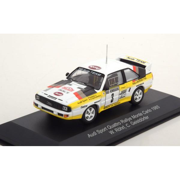 Audi Sport Quattro No.3, Rally Monte Carlo 1985 R�...