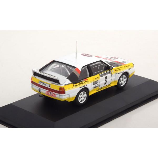 Audi Sport Quattro No.3, Rally Monte Carlo 1985 Röhrl/Geistdörfer with Decals.CMR 1:43