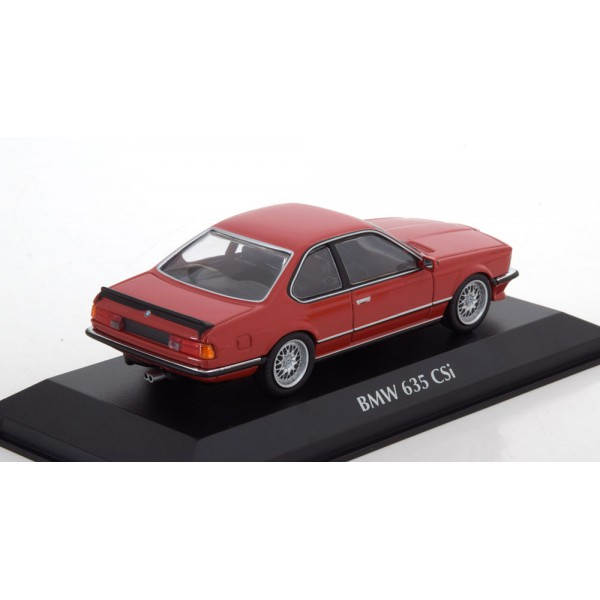 BMW 635 CSI 1982 red Maxichamps-Series Minichamps 1:43
