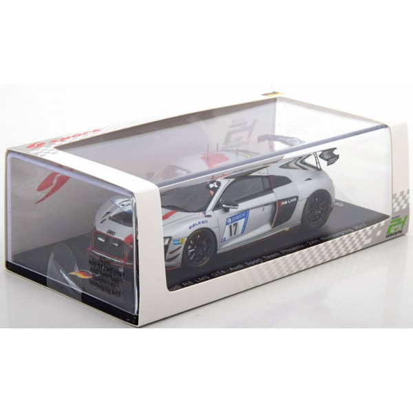 Audi R8 LMS GT4 No.17, 24h Nürburgring 2017 Lappaleinen/Mies/Terting/Yoong Limited Edition 300 pcs.Spark 1:43