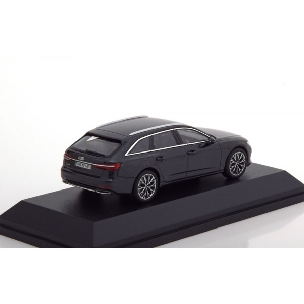 Audi A6 Avant 2018 anthracit special edition of Audi.I-Scale 1:43