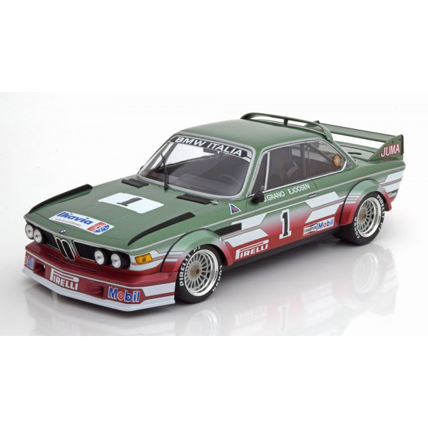 BMW 3.0 CSL No 1 ETCC Zandvoort 1979 Grano/Joosen Limited Edition 414 pcs.Minichamps 1:18