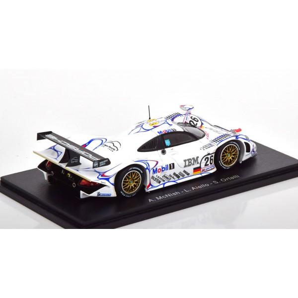 Porsche 911 (996) GT1 Winner 24h Le Mans 1998 Aiello/McNish/Ortelli.Spark 1:43