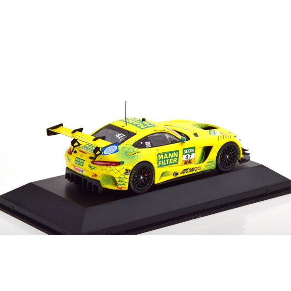 Mercedes AMG GT3 No 47 ADAC GT Masters Nuerburgring 2018 Pommer/Götz Made by Ixo.CMR 1:43