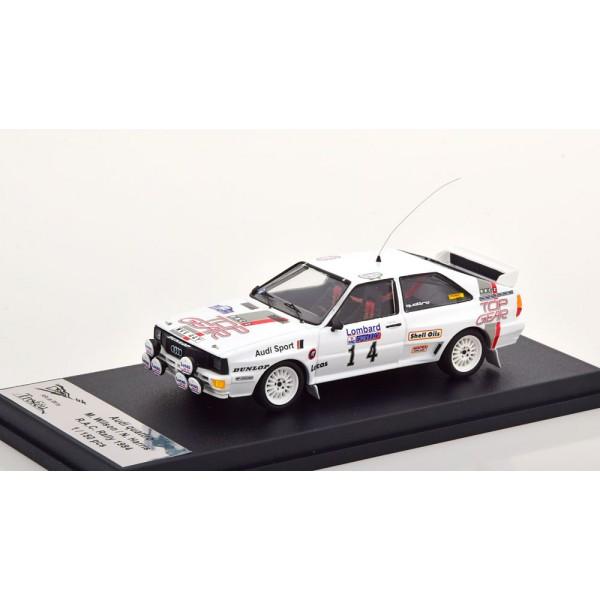 Audi Quattro No 14 RAC Rally 1984 Wilson/Harris L...