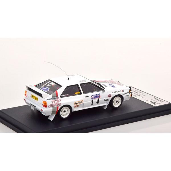 Audi Quattro No 14 RAC Rally 1984 Wilson/Harris Limited Edition 150 pcs.Trofeu 1:43
