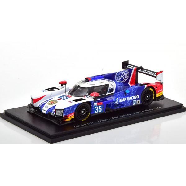 Dallara P217 No 35 24h Le Mans 2018 Shaitar/Newey/...