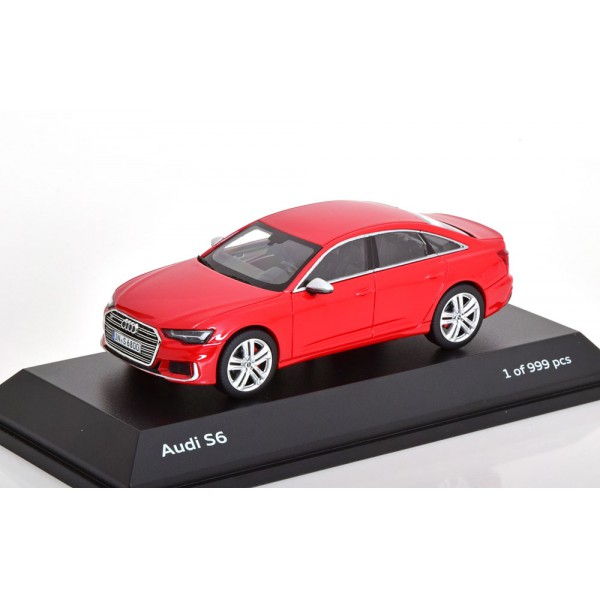 Audi S6 Saloon 2019 red special edition of Audi.J...