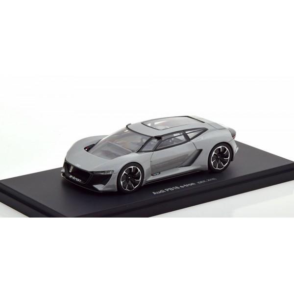 Audi PB-18 E-tron 2018 grey.Autocult 1:43