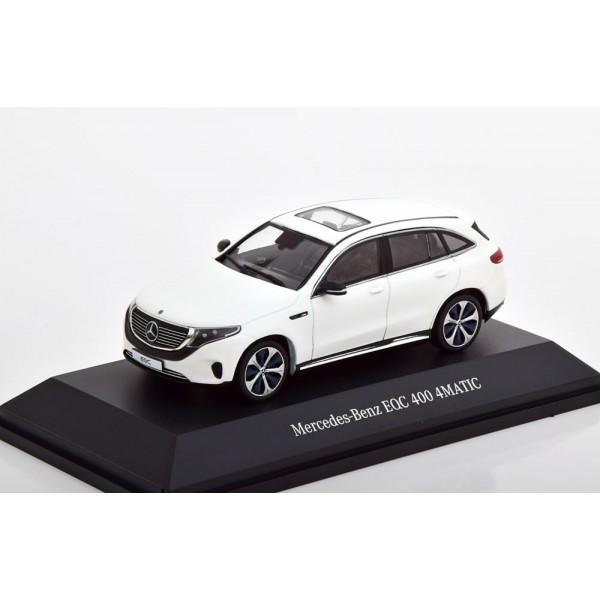 Mercedes EQC 400 4 Matic 2019 white special editio...