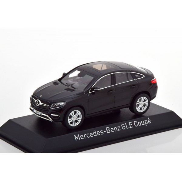 Mercedes GLE-Klasse C292 Coupe 2015 black.Norev 1:...