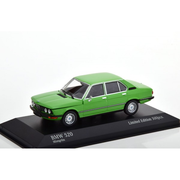 BMW 520 E12 1972 green Limited Edition 500 pcs.Min...