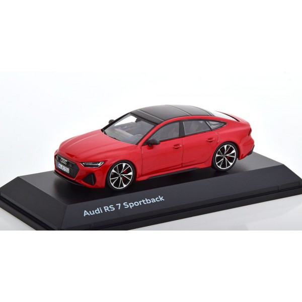 Audi RS 7 Sportback 2019 red special edition of Audi.Spark 1:43