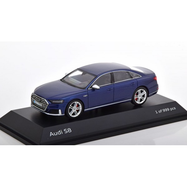 Audi S8 2019 darkblue-metallic special edition of...