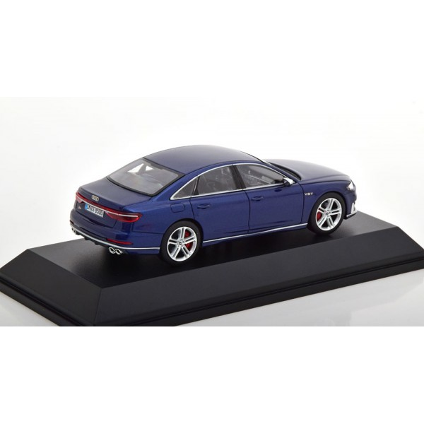 Audi S8 2019 darkblue-metallic special edition of Audi Limited 999 pcs.Jadi 1:43
