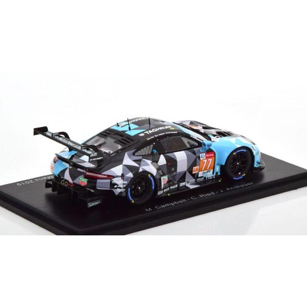 Porsche 911 RSR No 77 24h Le Mans 2019 Campbell/Reid/Andlauer.Spark 1:43
