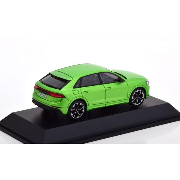 Audi RS Q8 2020 lightgreen-metallic special edition of Audi.Jaditoys 1:43