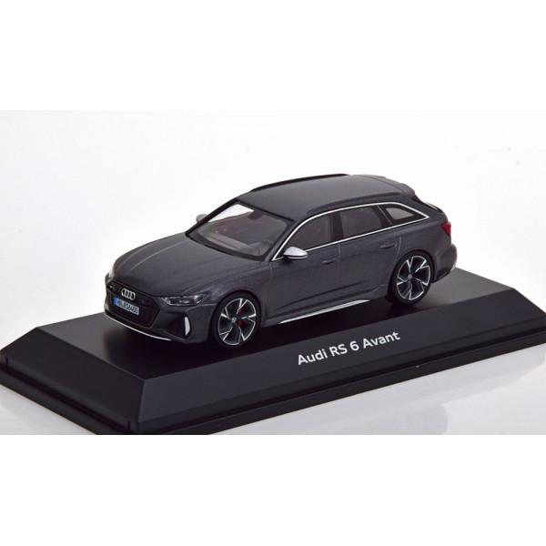 Audi RS 6 Avant 2019 mattgrau-metallic special edi...