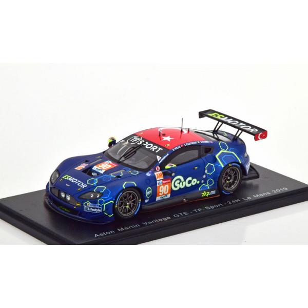 Aston Martin Vantage GTE No 90 24h Le Mans 2019 Ea...