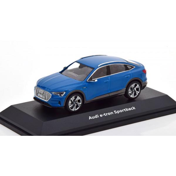 Audi e-tron Sportback 2020 blue.iScale 1:43