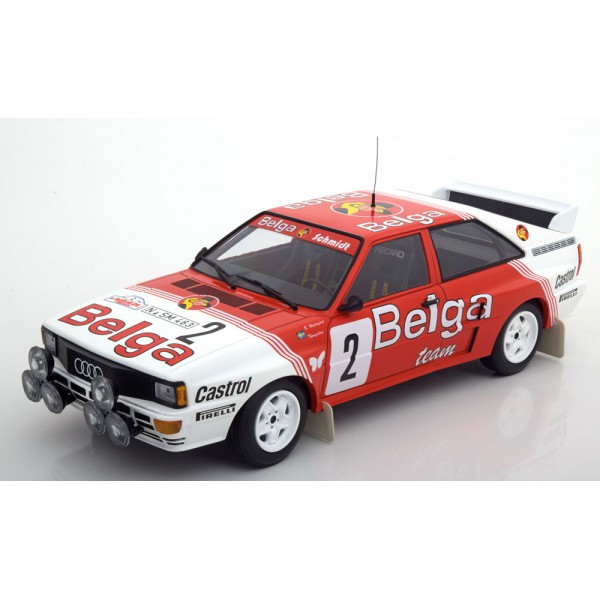 Audi Quattro A2 Winner Boucles de Spa 1985 Belga W...