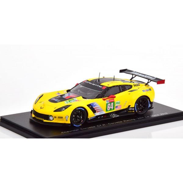 Chevrolet Corvette C7.R No 64 24h Le Mans 2018 Gavin/Milner/Fässler.Spark 1:43