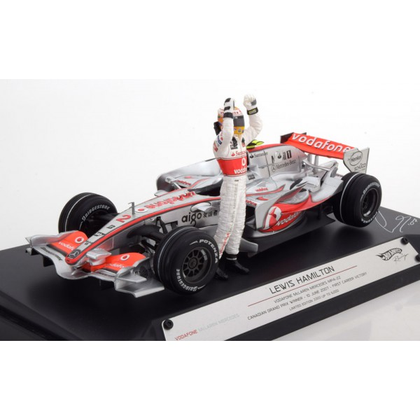 McLaren Mercedes MP4/22 1st GP Win, GP Canada