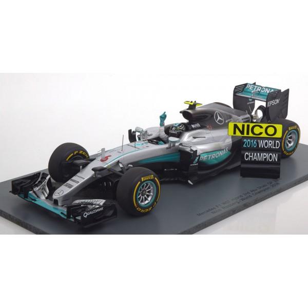 Mercedes F1 W07 Hybrid Abu Dhabi, World Champion