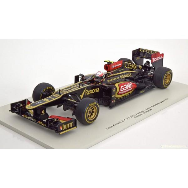 Lotus Renault E21 No.8, GP Australia