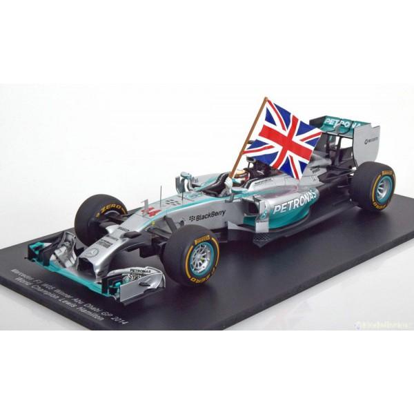 Mercedes F1 W05 Hybrid Sieger Abu Dhabi, Weltmeist...