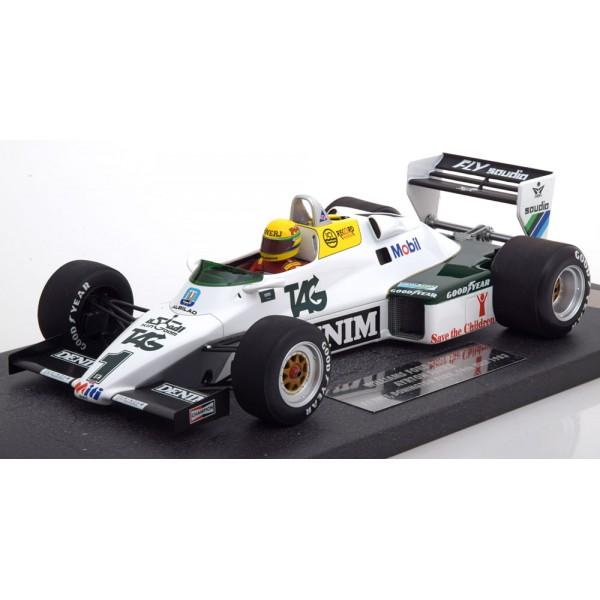 Williams Ford FW08C Test Donnington Park