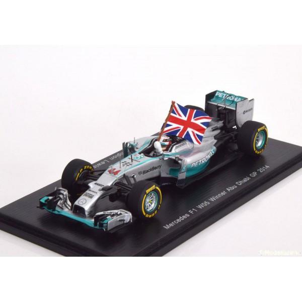 Mercedes W05 GP Abu Dhabi, World Champion