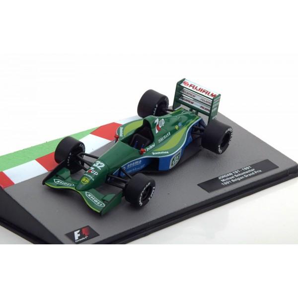 Jordan 191 GP Belgium, 1st GP of