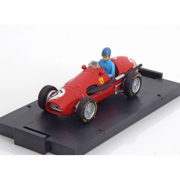 Ferrari 500 F2 GP Great Britain, World Champion