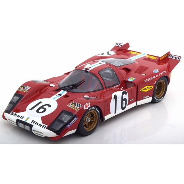 Ferrari 512S No.16, 24h Le Mans