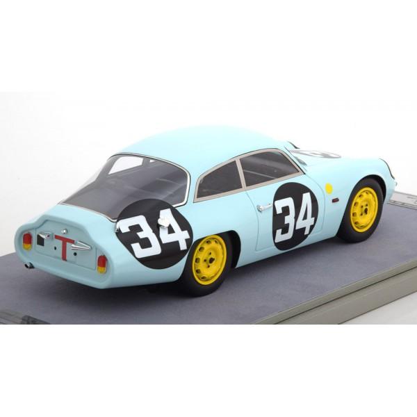 Alfa Romeo Giullietta SZ Coda Tronca No.34, 24h Le Mans