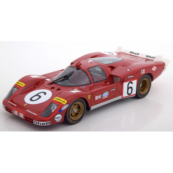 Ferrari 512S Long Tail No.6, 24h Le Mans