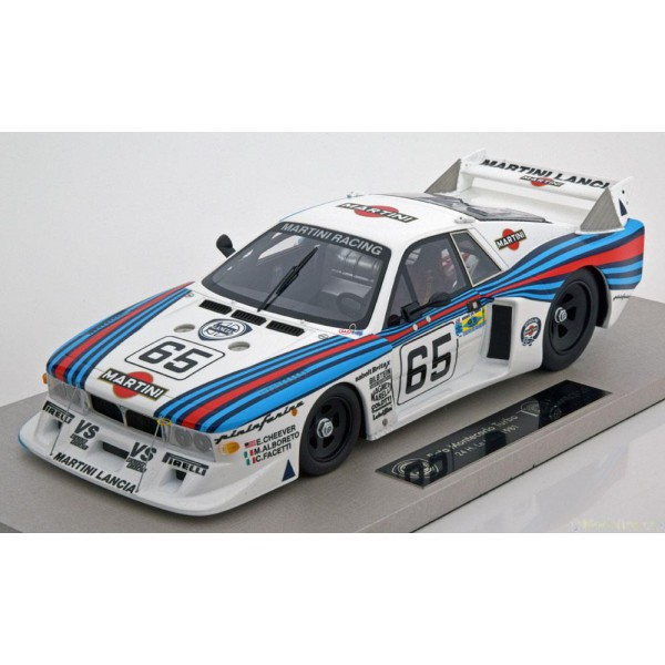Lancia Beta Montecarlo Turbo No.65, 24h Le Mans.1:...