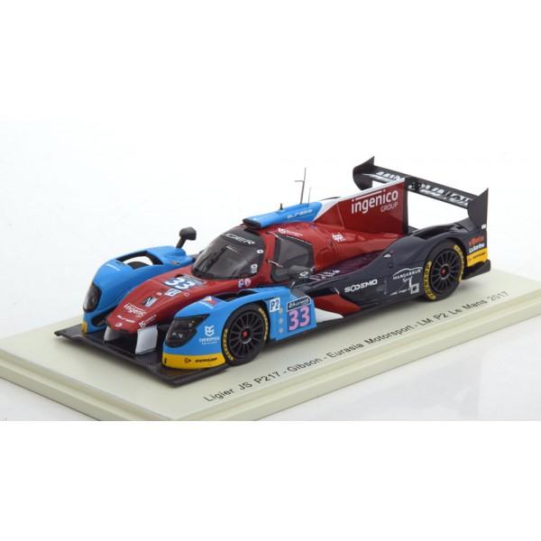 Ligier JS P217 No.33, 24h Le Mans
