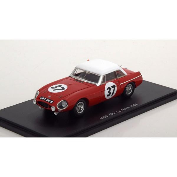 MG MGB Hardtop No.37, 24h Le Mans