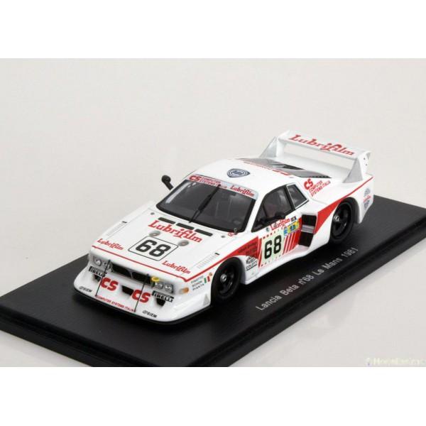 Lancia Beta Montecarlo Turbo No.68, 24h Le Mans