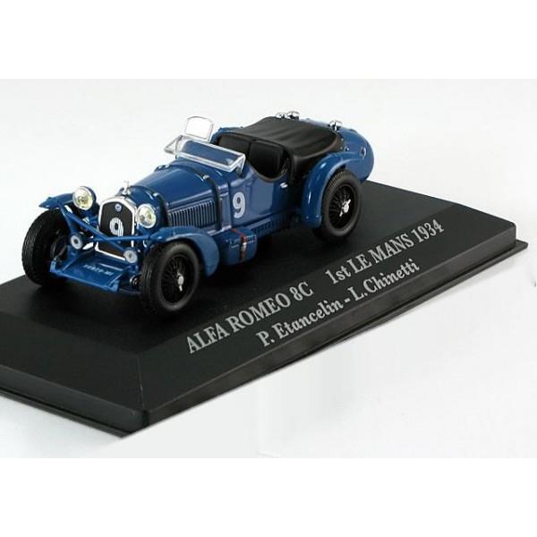 Alfa Romeo 8C Winner 24h Le Mans