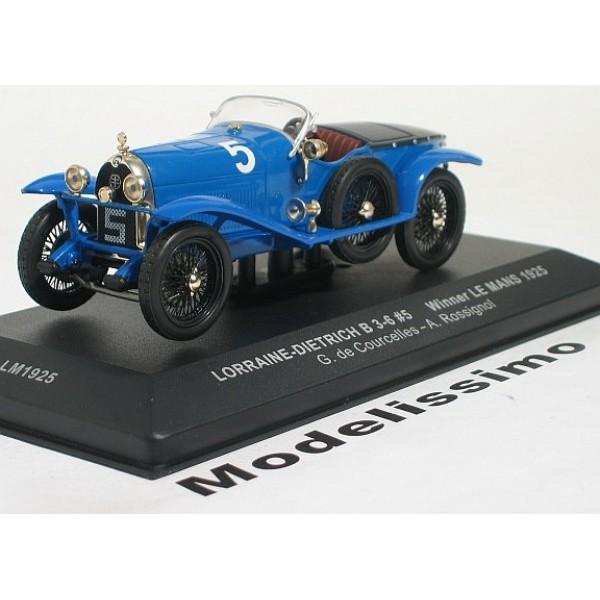 Lorraine-Dietrich B 3-6 Winner 24h Le Mans